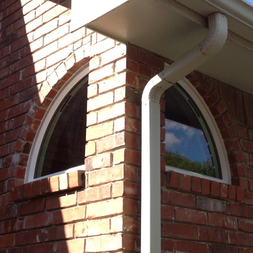 These are NT Window Energy Master vinyl windows as single hungs in the Prestonwood area of North Dallas