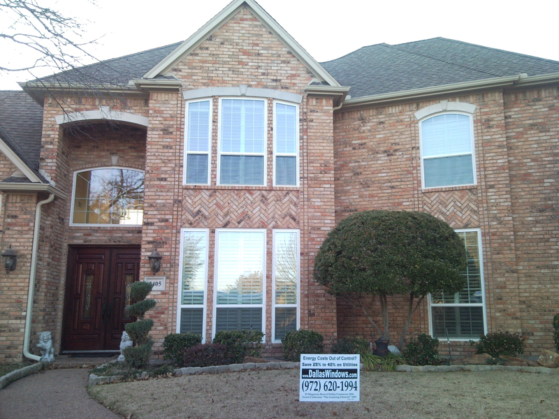 Replacement windows in addison texas for Vinyl window manufacturers