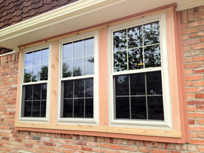 Alside Ultra Max Vinyl Windows with Grids