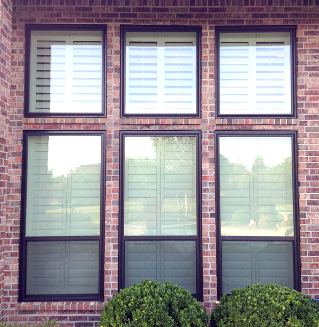 Vinyl replacement window colors for dallas for Replacement for windows