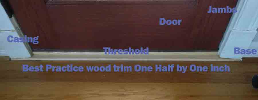 Exterior Patio Door Trim best practices for residential exterior door installation - dallas