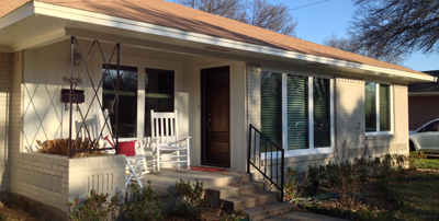 Royal Vinyl Replacement Windows Casement Model in Dallas